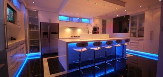Moderne kuhinje mermer granit kvarc